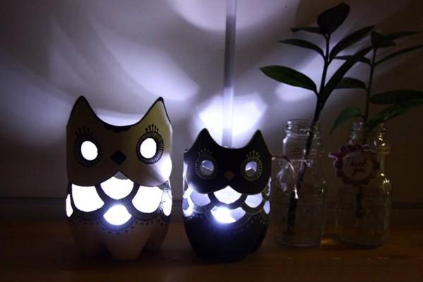 Làm đèn ngủ cú mèo
