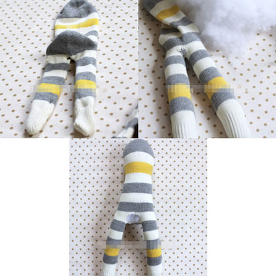 làm đồ chơi bằng bông hình chú khỉ