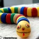 Làm rắn đồ chơi từ nắp chai