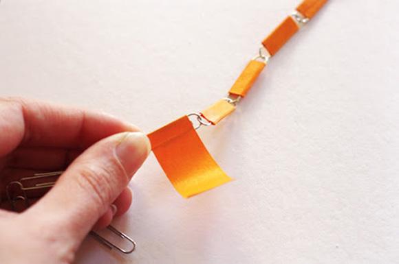 Làm vòng cổ đẹp từ ghim giấy