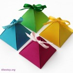 Tự làm hộp quà đẹp
