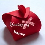 Cách làm hộp quà đơn giản