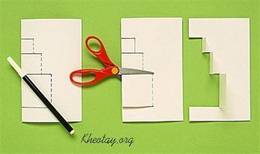 Как сделать открытку своими руками 3 д