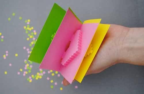 cách làm thiệp 3D