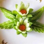 cách tỉa hoa từ dưa chuột