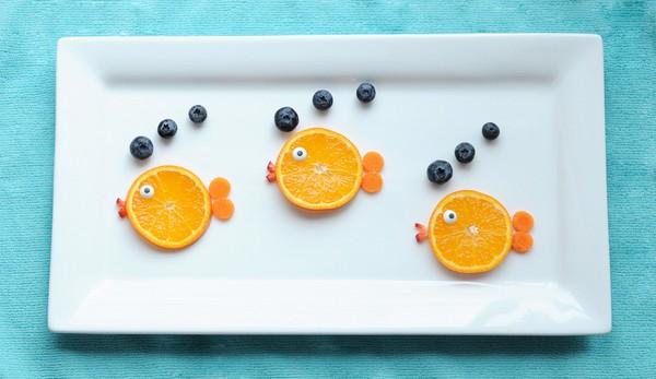 cách xếp hoa quả đơn giản