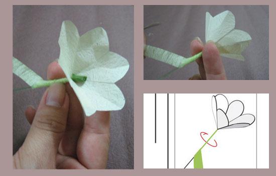 Tự làm hoa giấy đẹp