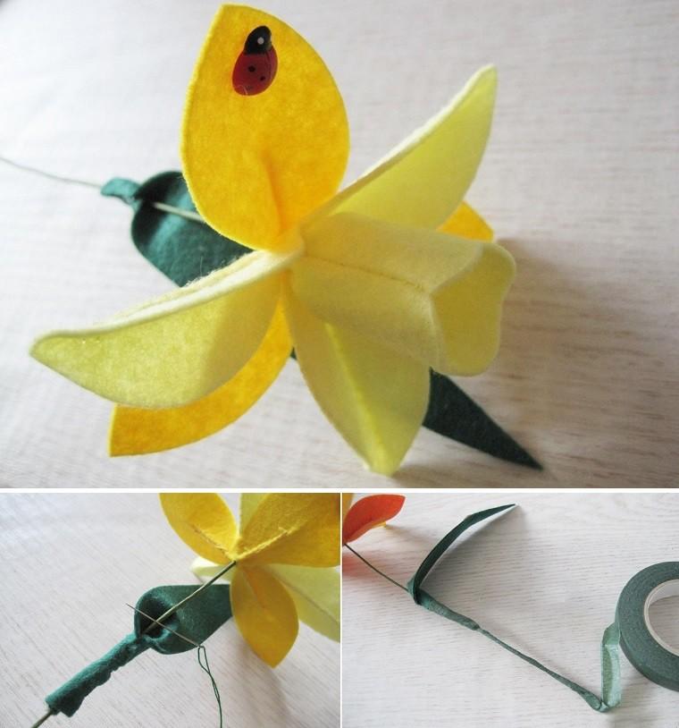 cách làm hoa vải handmade đẹp
