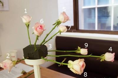 Cách cắm hoa độc đáo