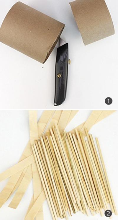 cách đan giỏ xinh từ giấy báo
