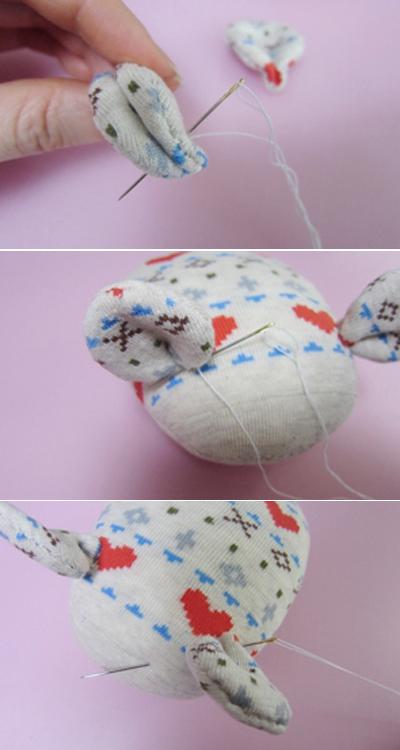 Cách làm chuột bông xinh xắn