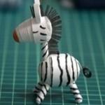 cách làm móc khóa handmade đẹp hình chú ngựa