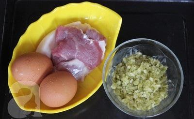 Cách làm trứng tráng cốm ngon