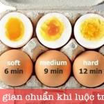 Mẹo vặt luộc trứng