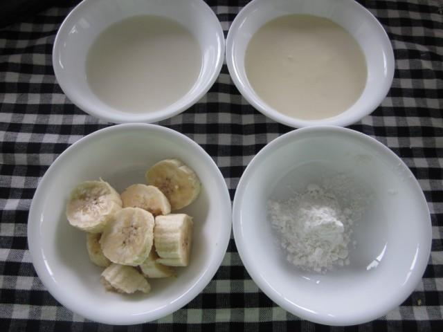 Tự làm váng sữa vị chuối cho bé
