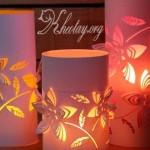 cách làm đèn trang trí bằng giấy đẹp