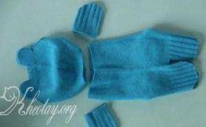 Cách làm đồ chơi bằng bông từ đôi tất