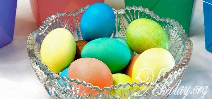 Cách làm trứng nhiều màu
