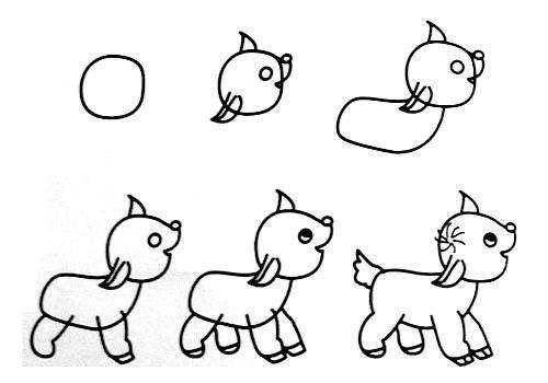 Cách vẽ con trâu đơn giản