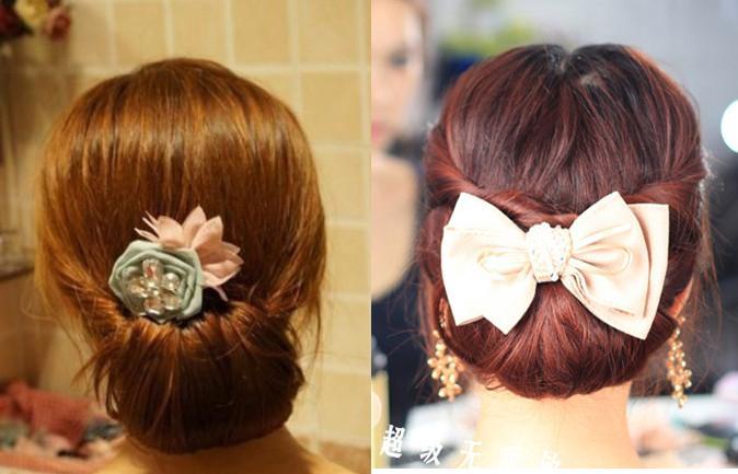 Cách búi tóc đơn giản mà đẹp