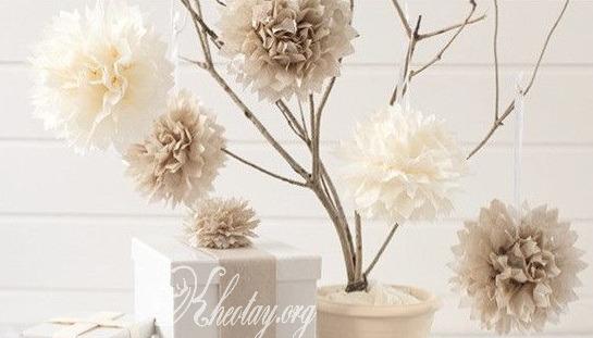 Cách làm hoa giấy đẹp