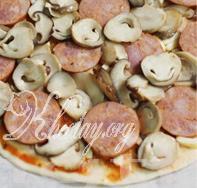 cách làm pizza nấm ngon