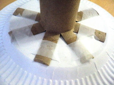 tự làm đồ chơi sáng tạo hình cây thông