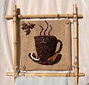 tự làm tranh treo tường hình cốc cà phê