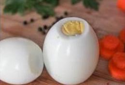 Cách trang trí trứng luộc đẹp mắt hình người tuyết