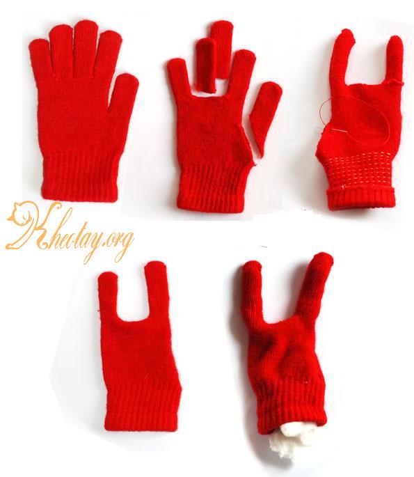 Hướng dẫn làm đồ chơi sáng tạo từ găng tay