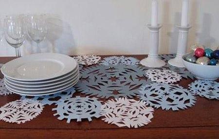 Cách làm bông tuyết bằng giấy đẹp