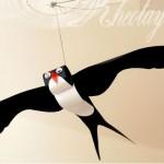 Cách làm con chim bằng giấy
