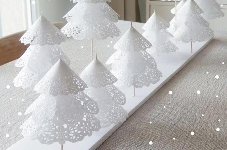 Hướng dẫn làm cây thông Noel đẹp