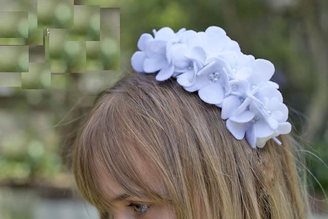 Tự làm bờm tóc đẹp từ vải nỉ