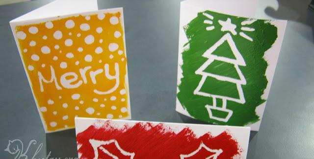 Tự làm thiệp Giáng Sinh đẹp