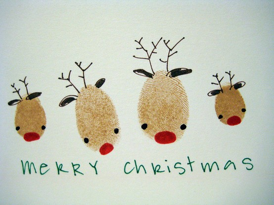 Tự làm thiệp Giáng sinh đơn giản