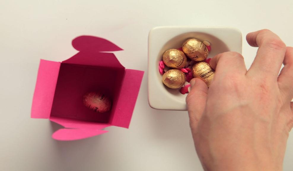 Cách làm hộp quà valentine