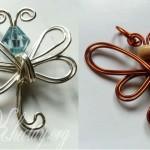 Cách làm con bướm đơn giản từ dây thép