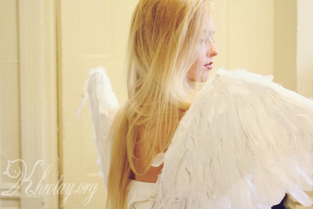 cách làm đôi cánh thiên thần
