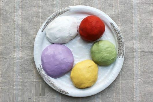 Hướng dẫn làm bánh trôi nhiều màu