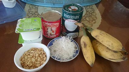 Cách làm kem chuối sữa dừa ngon