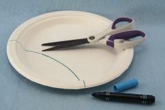 Cách làm đồ chơi đơn giản từ đĩa giấy