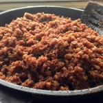 Cách làm mắm tép chưng thịt ngon