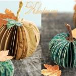 Cách làm bí ngô Halloween bằng giấy