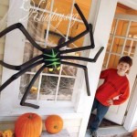 Cách làm con nhện trang trí nhà Halloween đơn giản