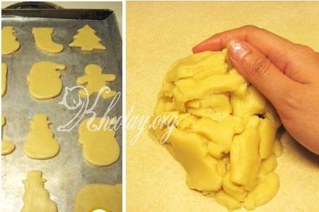 Cách làm bánh Giáng Sinh đẹp mắt mà đơn giản
