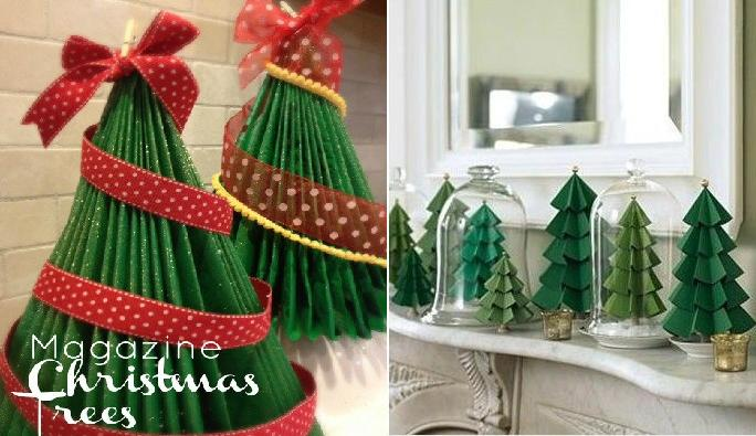 cách làm cây thông Noel đơn giản