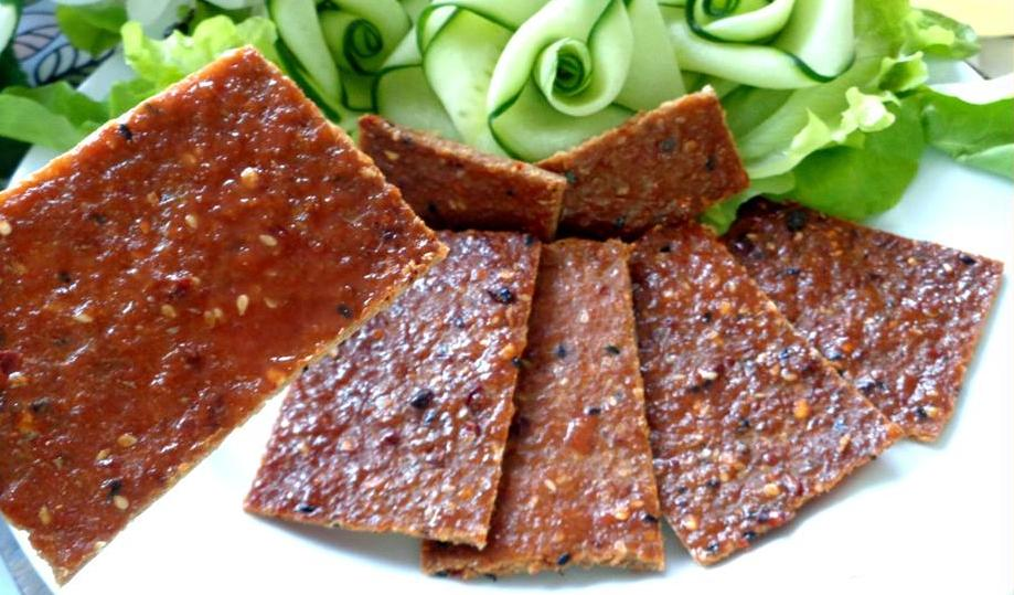 Cách làm món ăn vặt ngày tết: Thịt miếng nướng cay