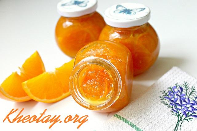Cách làm mứt cam mật ong ngon