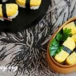 Cách làm sushi trứng cuộn ngon
